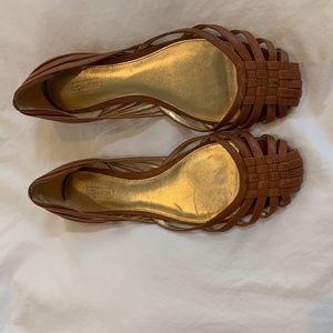 Coach Leather Sandals